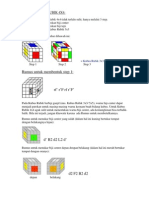 Solusi Kubus Rubik 4x4-Tl Puzzle