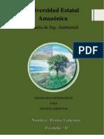 PROGRAMAS INFORMÁTICOS DE GESTION AMBIENTAL
