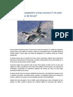 Venezuela suministró a Irán aviones F