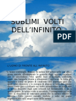 Sublimi Volti dell'Infinito