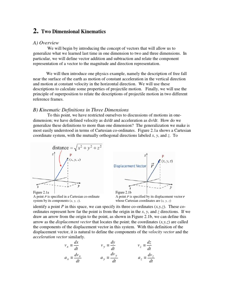 What is kinematics Definition and concept 1