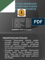 EFIKASI DAN KEAMANAN MELOXICAM PADA PASIEN RHEUMATOID ARTHRITIS