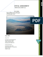 Burning Man 2012-2016 Special Recreation Permit
