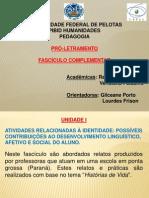 APRESENTAÇÃO PIBID 13-06-2012