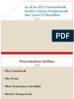 Checklist II