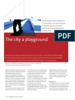 The city a playground