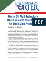 Digital Oil Field Technology Eprint