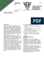 Interpreting Reproductive Efficiency Indexes
