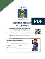 Agenda 2012-13 CAHM en PDF