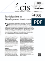 Participation Development Assistance