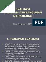 Evaluasi Program Community Development