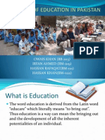 Problems Facing Eduaction in Pakistan