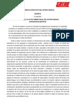 Reforma Ley de Timbre Fiscal de Estado Aragua 2011