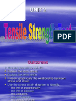Unit 2. Tensile Strength Test