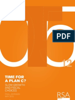 Time for a Plan C - Slow growth and fiscal choices