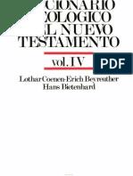 Diccionario Teologico Del Nuevo Testamento Vol. IV