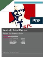 Kentucky Fried Chicken Word