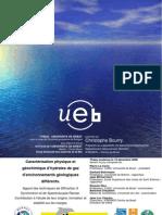 Caractérisation physique etgéochimique d'hydrates de gazd'environnements géologiquesdifférents