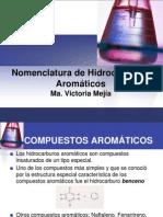 Nomenclatura de C. Aromaticos