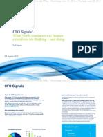 CFO Signals