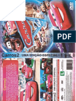 Capa Do DVD Carros 2