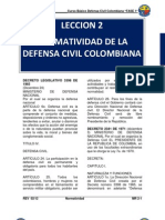 Mr 2 Normatividad de La Defensa Civil Colombiana