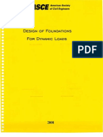 Design of Foundations for Dynamic Loads