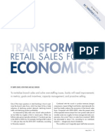Transforming Retail Sales Economics