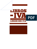 Manifiesto Libros sin IVA