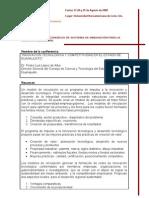 Congreso Sistemas de Innovacion Para La Competitividad 2008