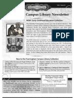 Winter 11-12 Newsletter