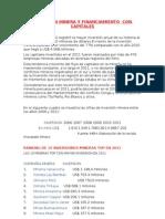 Inversion Minera y Financiamiento Con Capitales