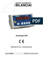 Bilanciai D70-manuale