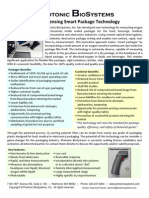 Oxygen-Sensing Smart Package Technology