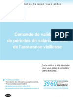 Retraite - Validation Periodes