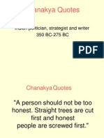 Chanakya Advices