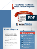 Mobile Social Games Developers, Platforms and Publishers