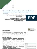 Convocatoria 577 COLCIENCIAS 2012