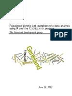 Geneland population genetics
