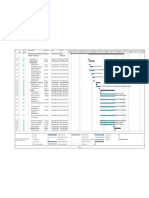 Operating Systems - Fedora 12 - Gantt Chart - Hirosh Tharaka
