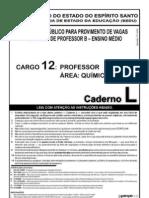 Cespe 2008 Sedu Es Professor Quimica Prova