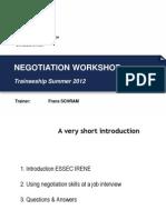 Negotiations at a Job Interview