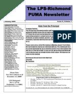 Puma News Jan 09
