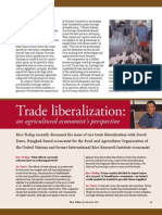 RT Vol. 5, No. 3 Trade liberalization