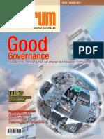 Good Governance. Media Komunikasi Komunitas Perumahan 'INFORUM' Edisi 1 tahun 2011