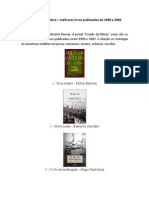 Melhores Livros Publicados 1990-2005