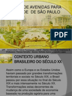 THU III - PLANO DE AVENIDAS DA CIDADE DE SP - Nathália Galeno e Leandro Lopes