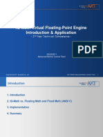 IQ Math Virtual Floating Point Engine for DSP