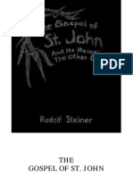 Rudolf Steiner - The Gospel of St John and Its Relation to the Other Gospels