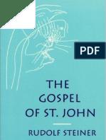 Rudolf Steiner - The Gospel of St John